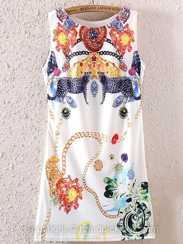 sleeveless dress print dress dress