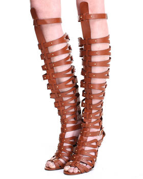 Buy Jamie Strappy Over the Knee Gladiator Sandal Pump Women's Footwear from Fashion Lab. Find Fashion Lab fashions & more at DrJays.com
