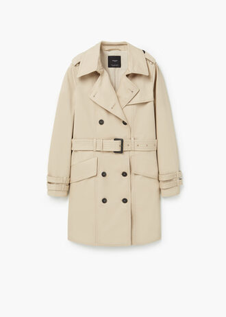 jacket trench coat