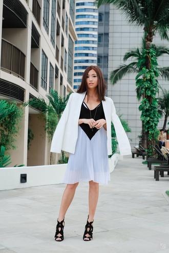 kryzuy blogger dress jewels jacket shoes
