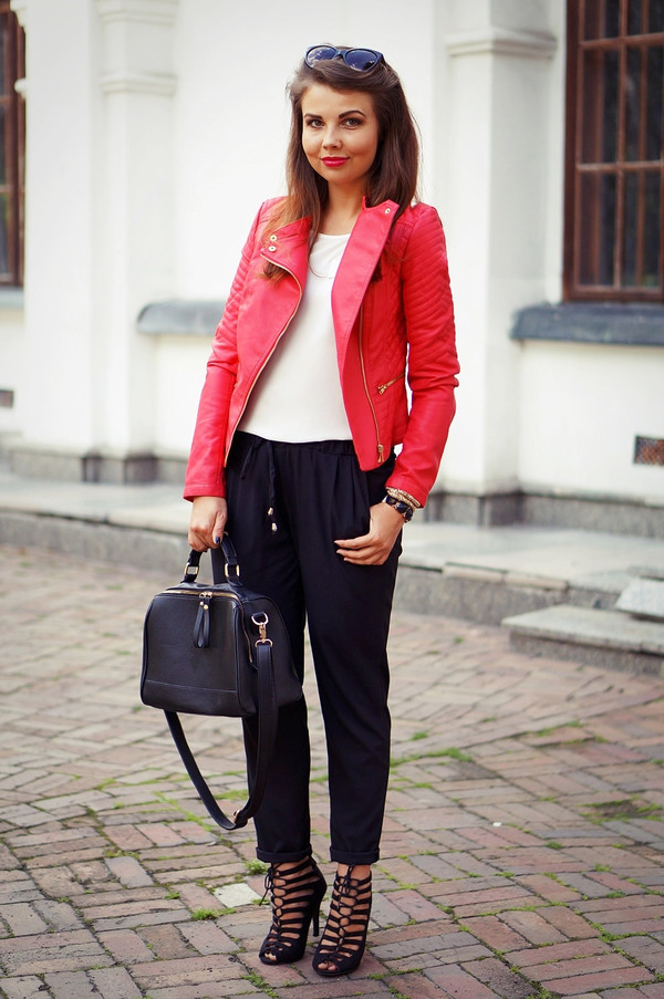 a piece of anna jacket jewels bag blouse