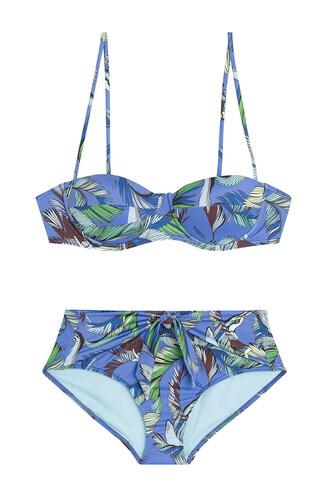 bikini retro style multicolor swimwear