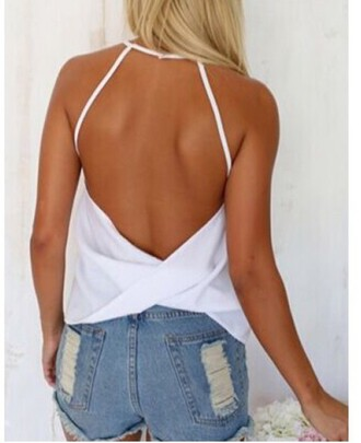 top girly girl girly wishlist white blouse open back flowy draped top