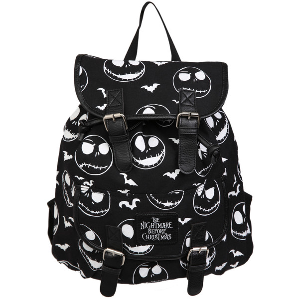 The Nightmare Before Christmas Jack Slouch Backpack | Hot Topic - Polyvore