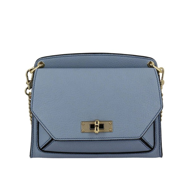 Bally mini women bag shoulder bag mini bag blue sky blue