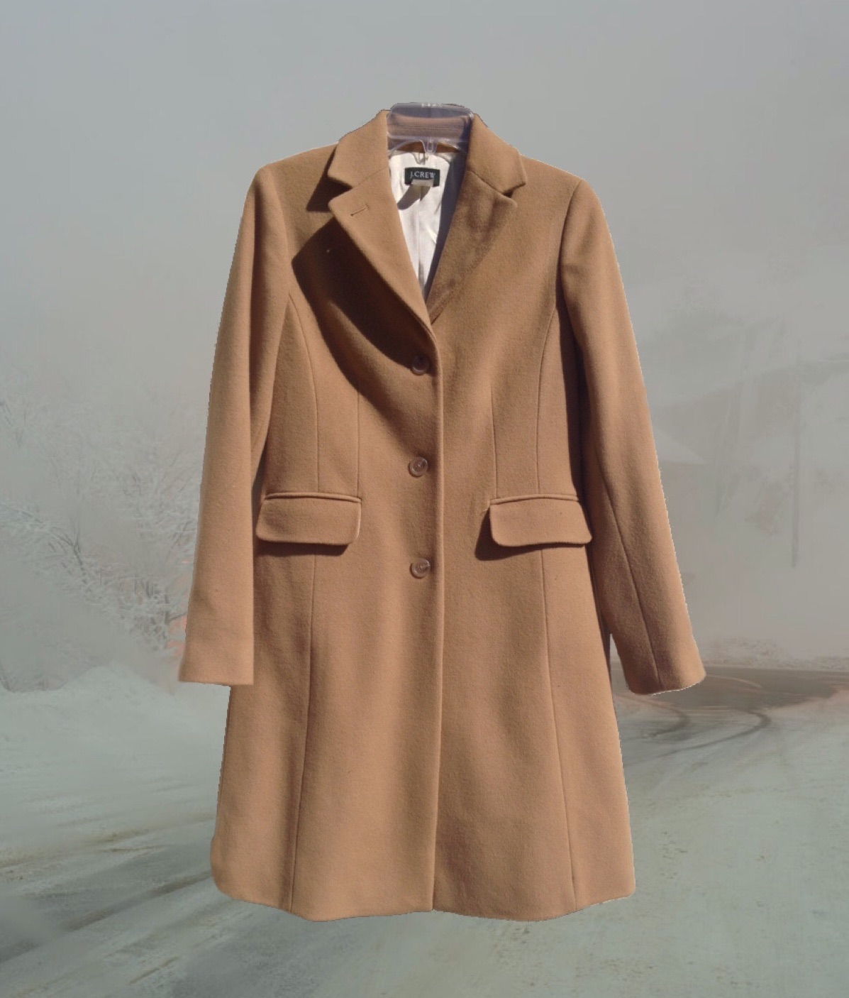 *free shipping* jcrew cashmere/wool coat · death  · online store powered by storenvy