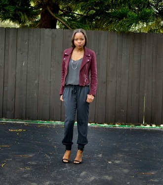 cha cha the fashion genius blogger jacket tank top