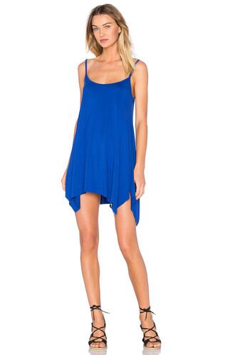dress tunic dress blue