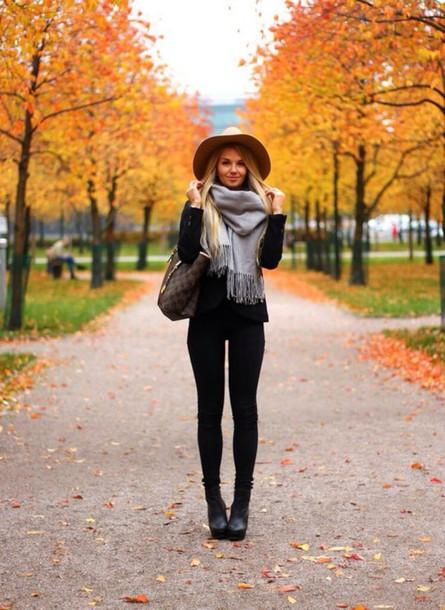 scarf grey grey scarf