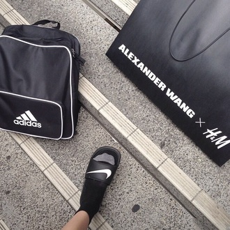 bag adidas adidas originals originals black and white black white backpack bookbag