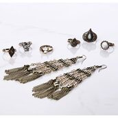 jewels,angl clothing,jewelry,ring,earrings,beaded earrings,ring sets,angl