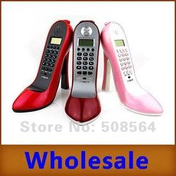 Chaussure dame style forme haute  talon maison nouveauté téléphone filaire téléphone nouveauté dans  de  sur Aliexpress.com