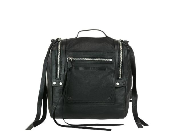 McQ Alexander McQueen mini backpack black bag