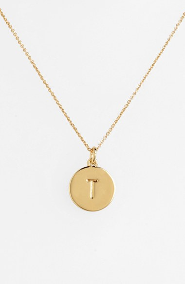 kate spade new york 'one in a million' initial pendant necklace | Nordstrom