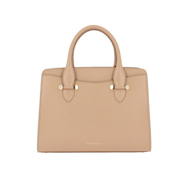 Salvatore Ferragamo women bag shoulder bag beige