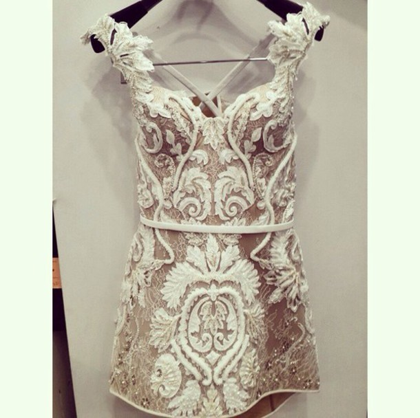 dress prom dress homecoming dress wedding dress white dress lace dress white lace dress white lace