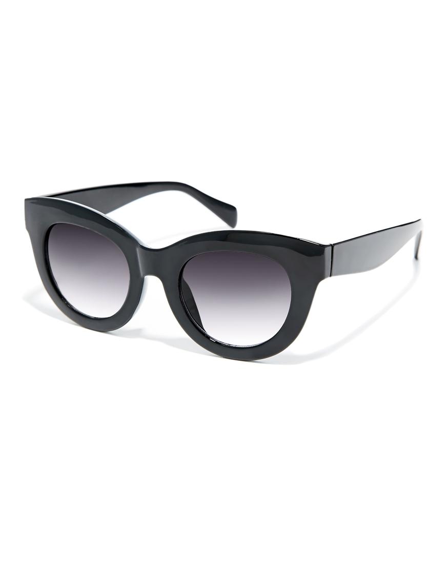 ASOS Chunky Cat Eye Sunglasses at asos.com