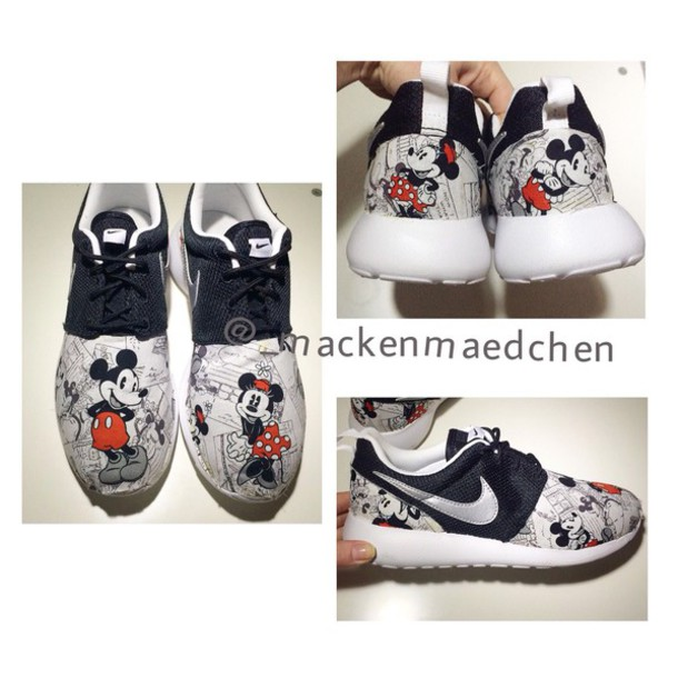 5ab8ca02bb32 shoes mickey mouse micky mickey mouse mickymous minnie mouse minnie mouse  mickeyandminne disney custom nikecustom nike
