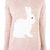 Pink Rabbit Jumper at Fashion Union