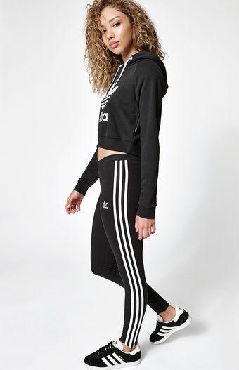 adidas 3-Stripes Leggings at PacSun.com