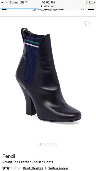 shoes fendi boots