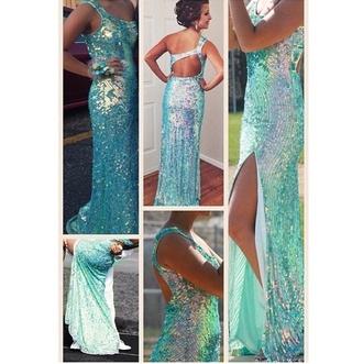 dress prom dress blue prom dress dress brand sequin prom dress sequin dress