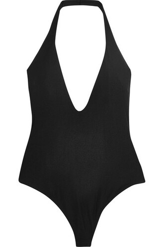 bodysuit black underwear
