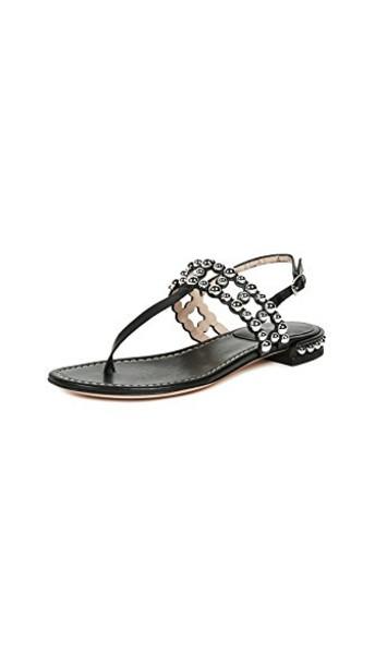 STUART WEITZMAN sandals black shoes