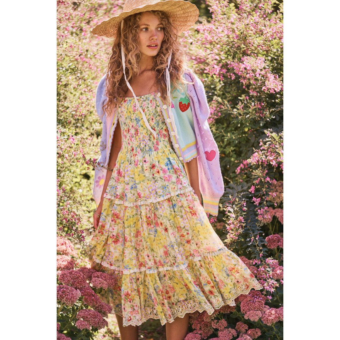 Masie Midi Dress