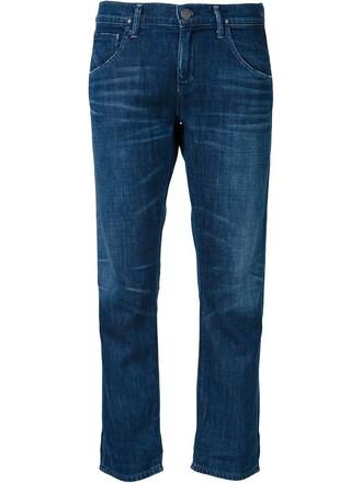 jeans boyfriend jeans cropped boyfriend blue