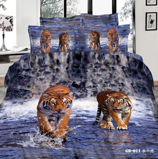 3d bedding sets pillow covers duvet cases flat bed sheet cotton bed in a bag