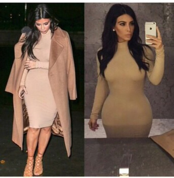 dress nude midi dress kim kardashian dress kim kardashian nude dress