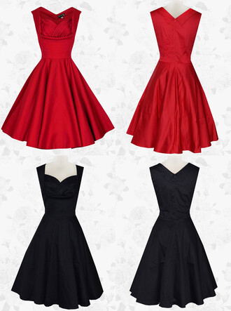 dress vintage dresss short dress red homecoming dress black homecoming dress wedding party dress