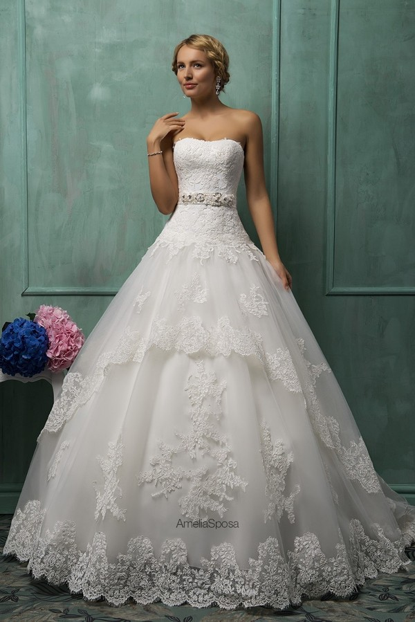 dress lace up wedding dress court train wedding dress