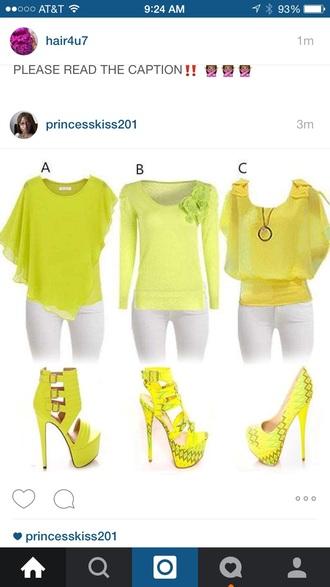 blouse yellow blouse yellow blouse yellow top