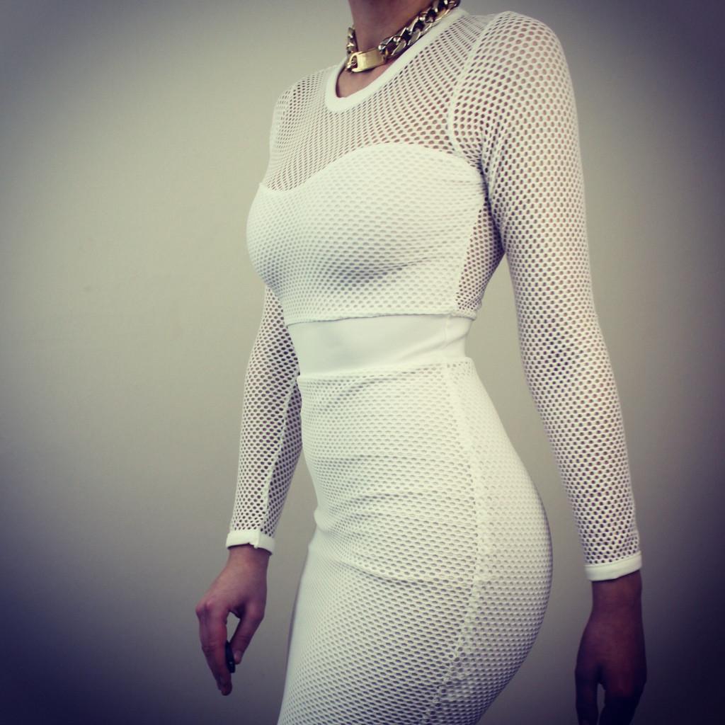 Kara net dress – boom boom boutique