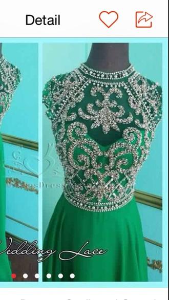 dress prom dress chiffon turquoise