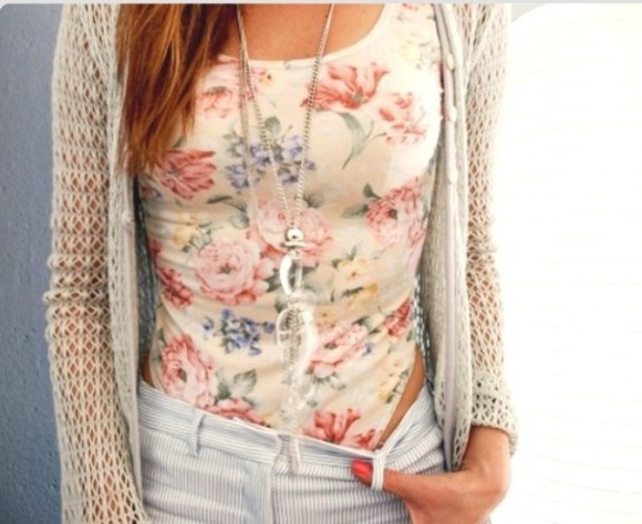 leotard one piece shirt floral floral t shirt floral top sweater
