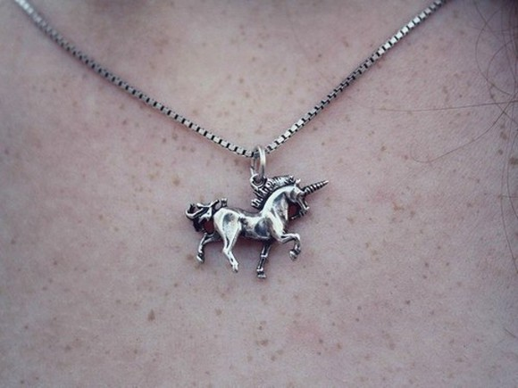 unicorn jewels necklace jewelry pendant