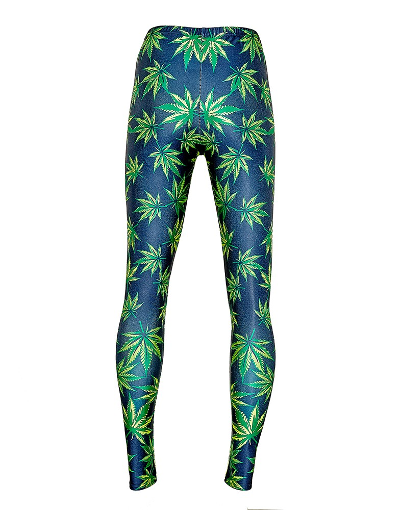 Cannabis Leggings, Cannabis Tights
