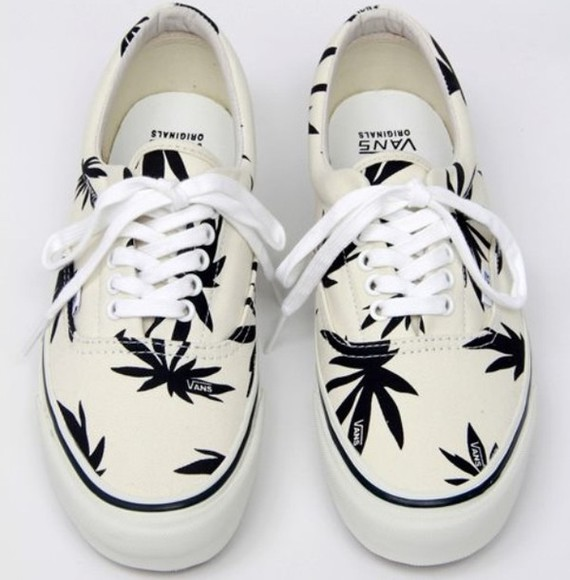 vans vans off the wall shoes cannabis