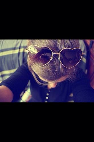 sunglasses sweet girly heart sun heart sunglasses