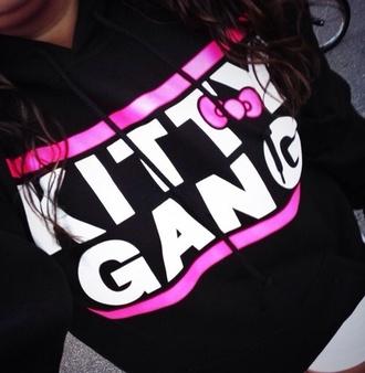 sweater kitty gang hoodie