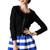 Blinda Bubble Skater Skirt | Outfit Made