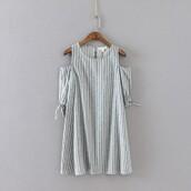dress,white blouse,shoulder bag,discount wedding dresses,scoop neck