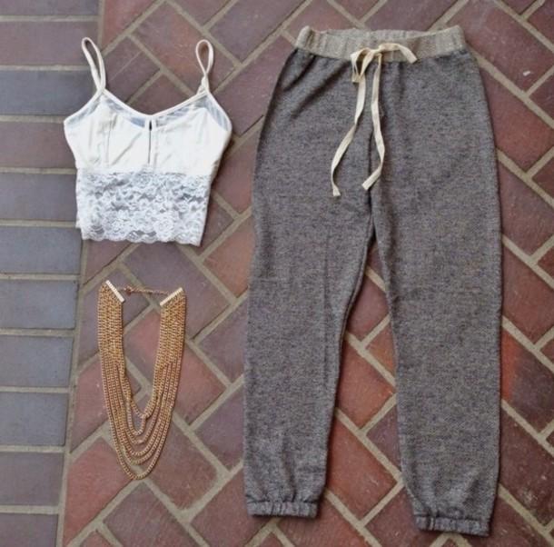 Pants cute jogger sweats joggers joggers pants sweatpants joggers jogger outfit cute ...