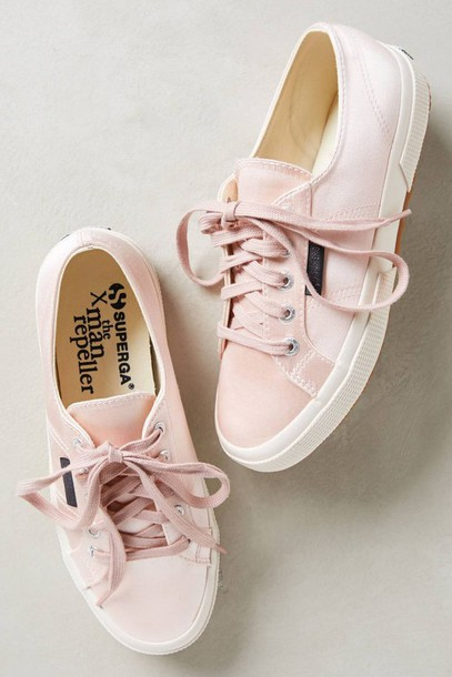 3d2a172fb06ae shoes superga satin baby pink pink sneakers trainers pastel sneakers pink  superga light pink low top