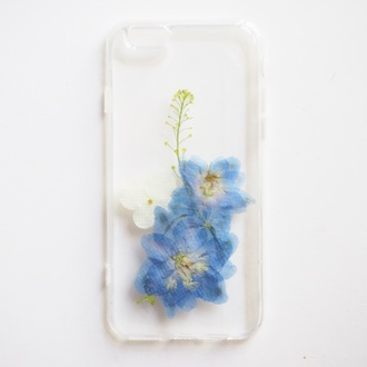 phone cover summer summer handcraft pressed flowers cute handmade iphone case iphone cover gift ideas girlfriend gift unique gifts