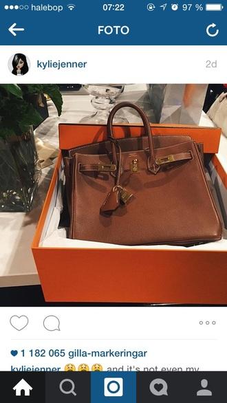 bag kylie jenner brown brown bag