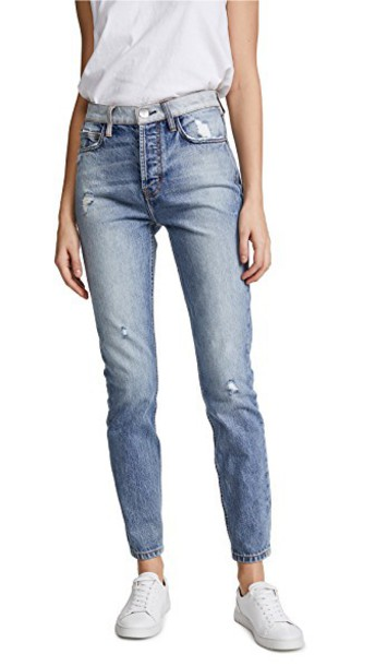 Current/Elliott jeans skinny jeans high